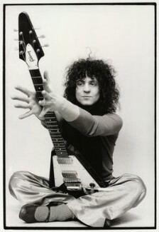 Marc Bolan, by Keith Morris, 1972 - NPG x87764 - © estate of Keith Morris www.keithmorrisphoto.co.uk