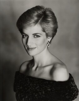 Diana, Princess of Wales, by Terence Donovan - NPG x29862