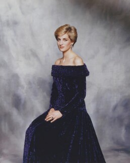 Diana, Princess of Wales, by Terence Donovan - NPG x29863