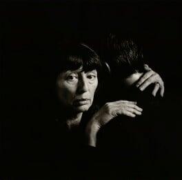 Dame Beryl Bainbridge, by Stuart Redler - NPG x25296