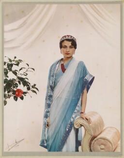 Princess Krishna, by Madame Yevonde - NPG x34363
