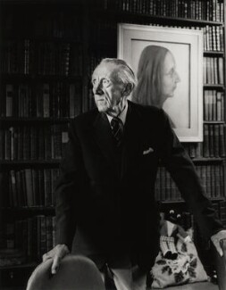 Sir Sacheverell Sitwell, 6th Bt, by Dudley Reed, 1982 - NPG x32173 - © Dudley Reed / National Portrait Gallery, London