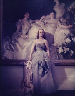 Ethel Mary Drage, by Norman Parkinson - NPG x30100