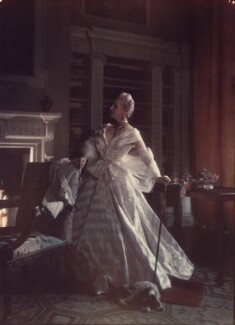 Unknown sitter ('Time's Glass-Age of Experience'), by Norman Parkinson - NPG x30104