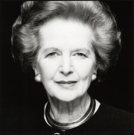 Margaret Thatcher, by Fergus Greer, 1995 - NPG x126810 - © Fergus Greer