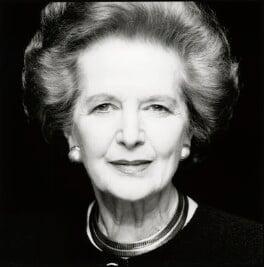 Margaret Thatcher, by Fergus Greer - NPG x126810