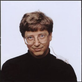 Bill Gates, by Fergus Greer, 1992 - NPG x126813 - © Fergus Greer