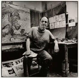 Frank Auerbach, by Nicholas Sinclair, 1998 - NPG x87733 - © Nicholas Sinclair / DACS