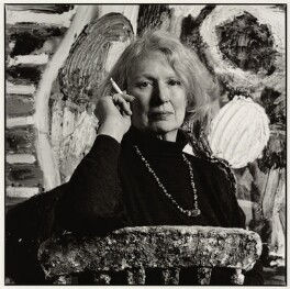 Gillian Ayres, by Nicholas Sinclair - NPG x77007