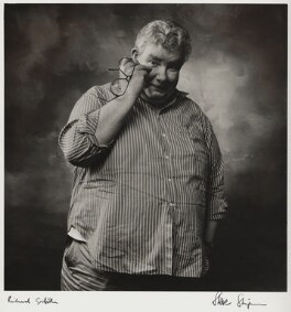 Richard Griffiths, by Steve Shipman - NPG x47275