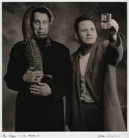 Vic Reeves; Bob Mortimer, by Steve Shipman, July 1993 - NPG  - © Steve Shipman / National PortraitGallery, London