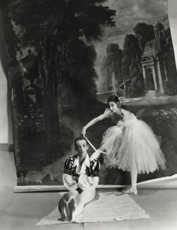 Margot Fonteyn; Sir Robert Murray Helpmann, by Norman Parkinson - NPG x30080