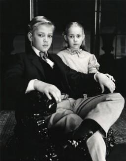 Jeremy Spencer; Carol Wolveridge in 'The Innocents', by Norman Parkinson - NPG x30077