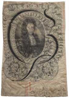 King William III, by Robert White - NPG D17048