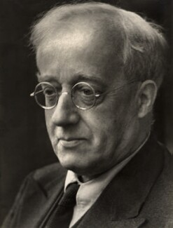 Gustav Holst, by Martha Stern - NPG x18542