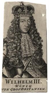 King William III, after Unknown artist - NPG D17034