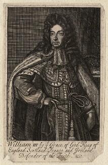 King William III, after Sir Godfrey Kneller, Bt - NPG D17035