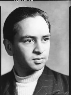 Mulk Raj Anand, by Howard Coster, 1930s - NPG x126819 - © National Portrait Gallery, London