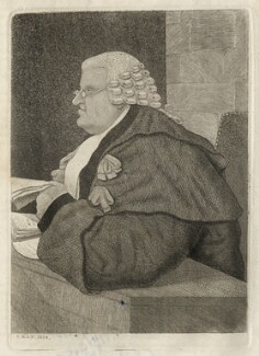 Charles Hay, Lord Newton, by John Kay - NPG D16876