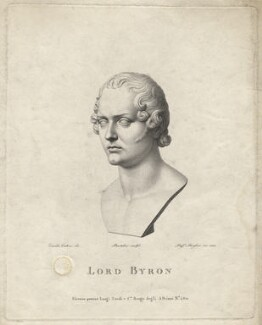 Lord Byron, by Raphael Morghen, after  Lorenzo Bartolini - NPG D17067