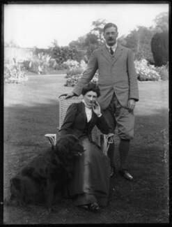 Hon. Eleanor Hereford (née Cockburn); James Tuder Hereford, by Bassano Ltd - NPG x104244