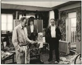 Lucian Freud; Bruce Bernard, by Ken Griffiths - NPG x126821