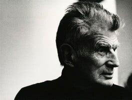 Samuel Beckett, by John Minihan, 1982 - NPG x29012 - © John Minihan / National Portrait Gallery, London