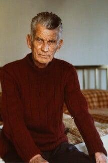 Samuel Beckett, by John Minihan - NPG x29010