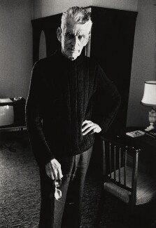 Samuel Beckett, by John Minihan, 1980 - NPG x28989 - © John Minihan / National Portrait Gallery, London