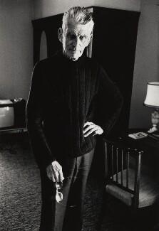 Samuel Beckett, by John Minihan, 1980 - NPG x28989 - © John Minihan / National Portrait Gallery, London