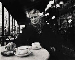 Samuel Beckett, by John Minihan, December 1985 - NPG  - © John Minihan / National Portrait Gallery, London