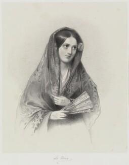 'La Nena' (Manuela Perea ('La Nena')), by Richard James Lane - NPG D21676