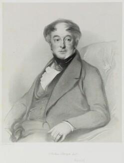 Joshua Stanger, by Richard James Lane, after  Samuel Laurence - NPG D21678
