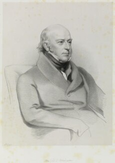 Sir Edward Codrington, by Richard James Lane, after  Henry Perronet Briggs - NPG D21683