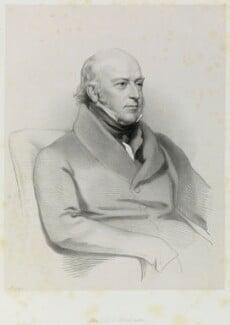 Sir Edward Codrington, by Richard James Lane, after  Henry Perronet Briggs, 1845 (1843) - NPG D21683 - © National Portrait Gallery, London