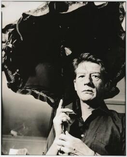 Sir John Hurt, by Alastair Thain, 1986 - NPG x26022 - © Alastair Thain