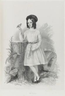 Miss Wormald, by Richard James Lane - NPG D21691