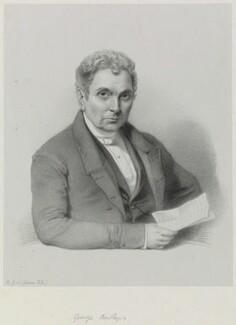 George Bartley, by Richard James Lane - NPG D21693