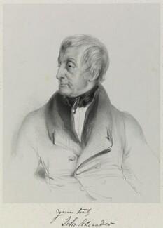 John Alexander, by Richard James Lane, 1846 - NPG D21694 - © National Portrait Gallery, London