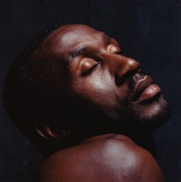 Linford Christie, by Alistair Morrison - NPG x77043