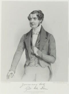 George Henry Davis, by Richard James Lane, printed by  M & N Hanhart, published by  John Lavars, after  John Watkins - NPG D21699