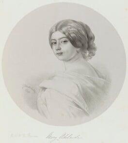 Princess Mary Adelaide, Duchess of Teck, by Richard James Lane, after  Franz Xaver Winterhalter - NPG D21706