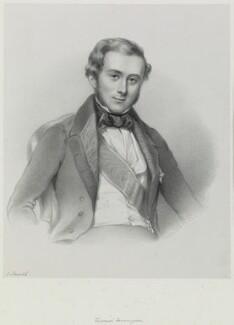 Hon. George Byng, 7th Viscount Torrington, by Richard James Lane, circa 1847 - NPG D21708 - © National Portrait Gallery, London