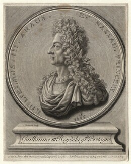 King William III, by Simeon Thomassin, after  Unknown artist - NPG D17043