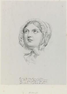 Mrs Arkwright, by Richard James Lane, after  Sir George Hayter - NPG D21729