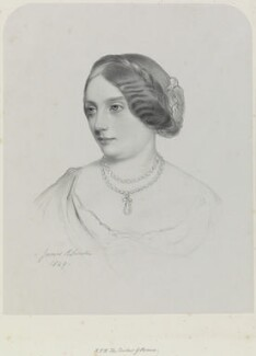 Louise Marie Therese, Duchess of Parma, by Richard James Lane, after  James Rannie Swinton - NPG D21730
