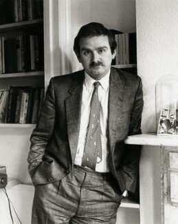 Peter Ackroyd, by Mark Gerson, mid 1980s - NPG x25203 - © Mark Gerson / National Portrait Gallery, London