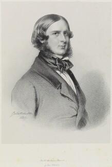 Edward, Prince of Saxe-Weimar, by Richard James Lane, after  Franz Xaver Winterhalter - NPG D21739