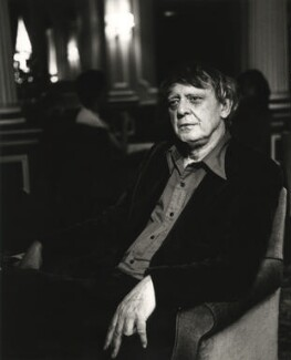 Anthony Burgess, by Mark Gerson - NPG x20105