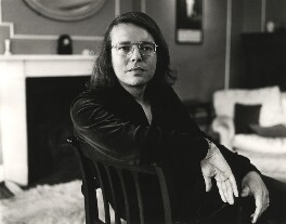 Christopher James Hampton, by Mark Gerson - NPG x20109